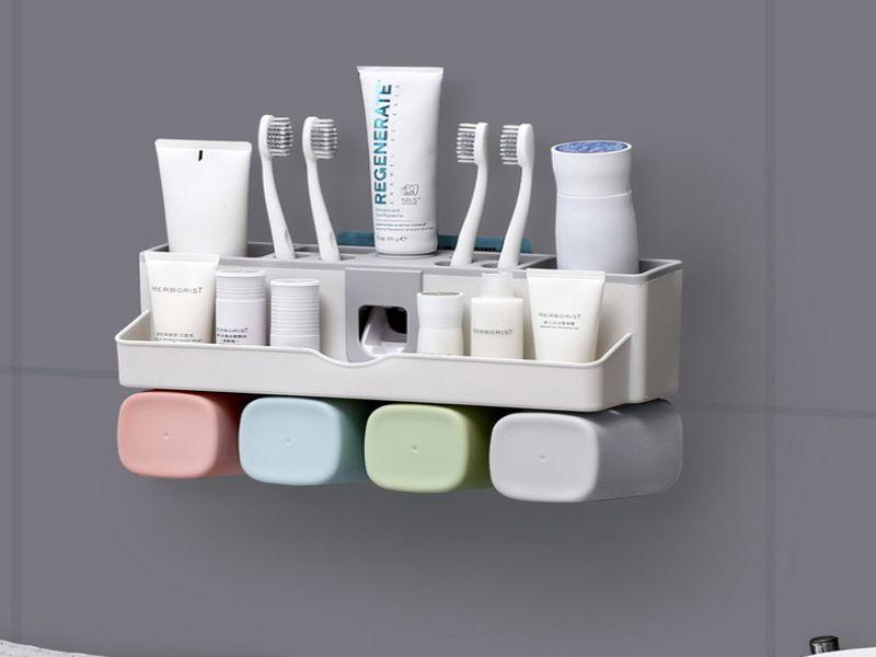 Giá đựng bàn chải đánh răng tiện lợi