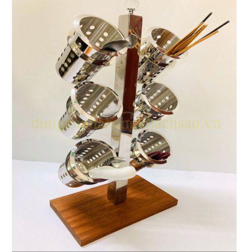 Kệ Đựng Đũa, dao , muỗng, nĩa 6 ngăn BF-KD1021