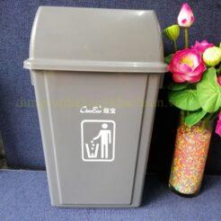 Thùng rác nắp lật B-013