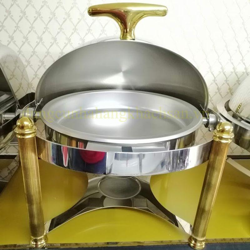 Nồi hâm buffet tròn inox 1 ngăn BF-NM721EG