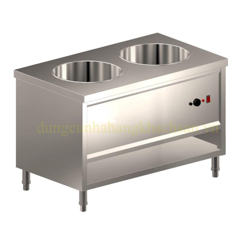 Tủ hâm nóng 2 ngăn tròn dùng điện BE-THN02