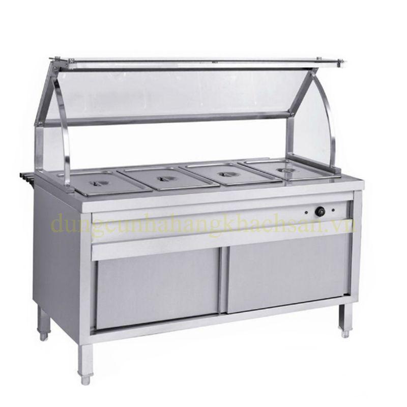 Tủ hâm nóng thức ăn 4 khay có kính BE-THN04