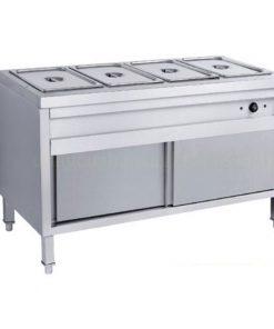Tủ hâm nóng thức ăn 4 khay có cửa lùa BE-THN04-01
