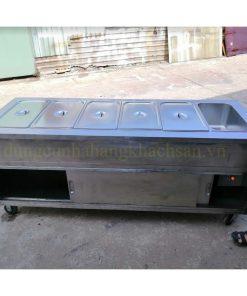 Tủ hâm nóng thức ăn 6 khay dùng điện có cửa lùa BE-THN-6GN1/1