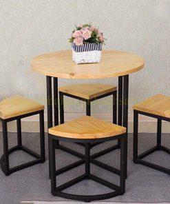 Bộ Bàn Ghế Cafe PT-BGT- 0041
