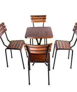 Bộ Bàn Ghế Café Ngoài Trời PT-BGV- 0041