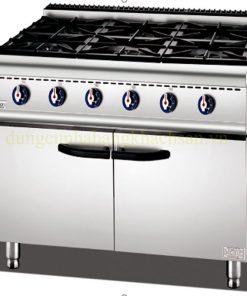 Bếp âu 6 họng có tủ ZH-TQ-6A