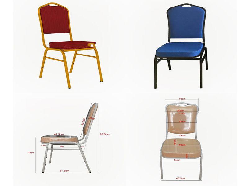 Chiều cao của ghế đảm bảo được chiều cao trung bình của người Việt Nam