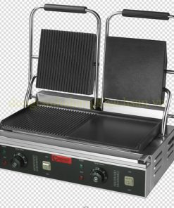 Máy nướng thịt đôi (1/2 có rãnh 1/2 phẳng) ZH-813D