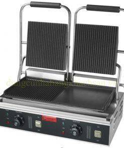 Máy nướng thịt đôi (Trên có rãnh dưới 1/2 có rãnh 1/2 phẳng) ZH-813C