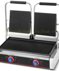 Máy nướng thịt đôi có rãnh ZH-813