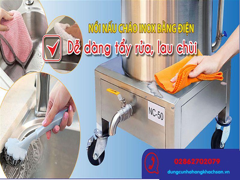 Dễ dàng làm sạch trong quá trình sử dụng