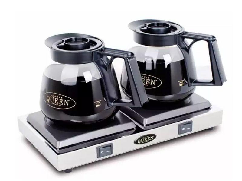 Bếp hâm cà phê dùng điện tiện lợi