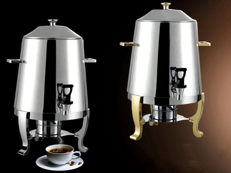 Bếp hâm cà phê dùng cồn có dung tích tương đối lớn