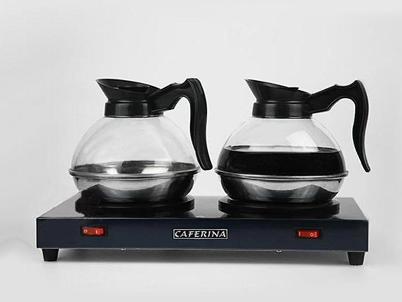 Với thiết kế nhỏ gọn tiện lợi bếp hâm nóng cà phê đang được nhiều người lựa chọn