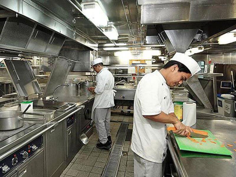 Bếp hầm đơn phục vụ cho số lượng người ăn lớn