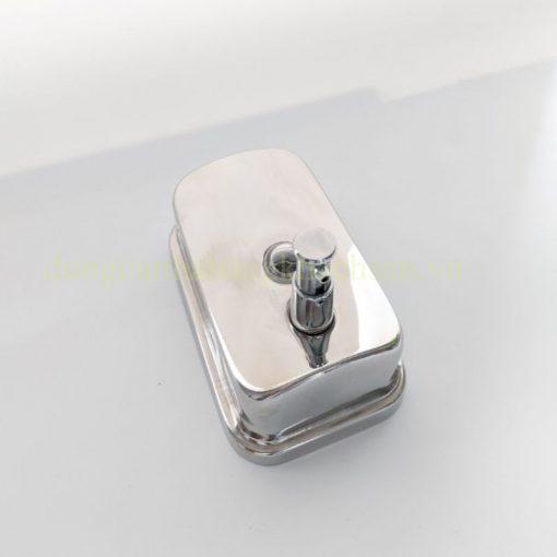 Bình inox 304 đựng xà phòng, sữa tắm, nước rửa tay treo tường 12141435