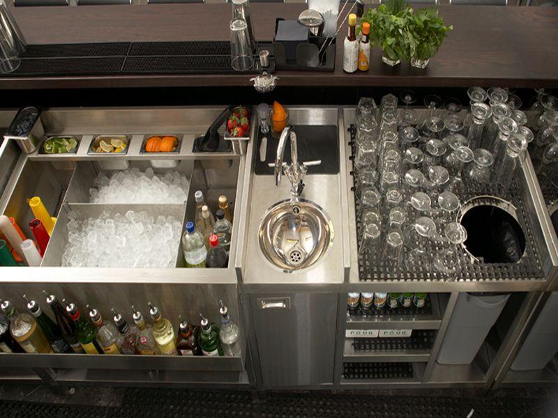 Thiết bị phục vụ quầy bar nâng cao khả năng chuyên nghiệp