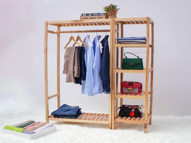Cây treo quần áo có thể ứng dụng với nhiều loại trang phục khác nhau