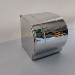 Hộp đựng khăn giấy inox 304 tròn nhỏ 121614031