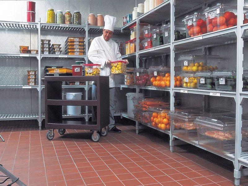 Kho chứa hàng trong bếp ăn công nghiệp
