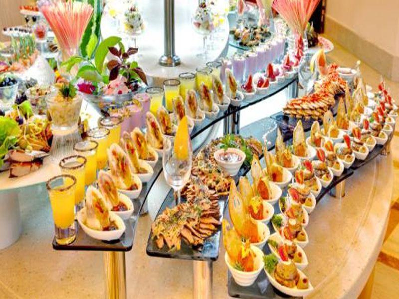 Hướng dẫn cách setup tiệc buffet tại các nhà hàng khách sạn