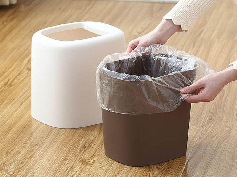 Không sử dụng túi lót sẽ làm cho thùng rác nhanh hỏng