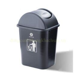 Thùng rác nhựa nắp lật GX-006BG