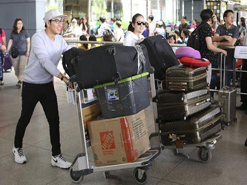 Xe đẩy hành lý tại Dungcunhahangkhachsan sở hữu nhiều tính năng nổi bật