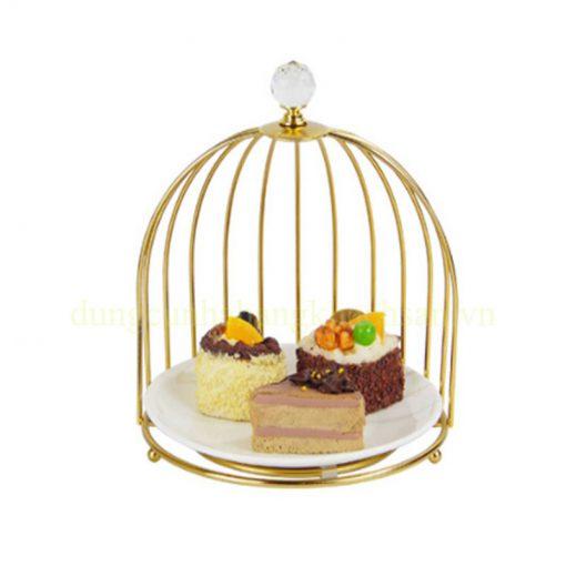 Kệ trang trí thức ăn lồng chim 1 tầng BF-NM-KB017