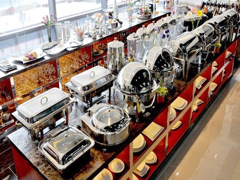Chất liệu của nồi buffet chính hãng được làm trực tiếp từ inox 304