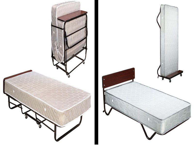 Giường phụ khách sạn có hai loại: giường đứng và giường gấp