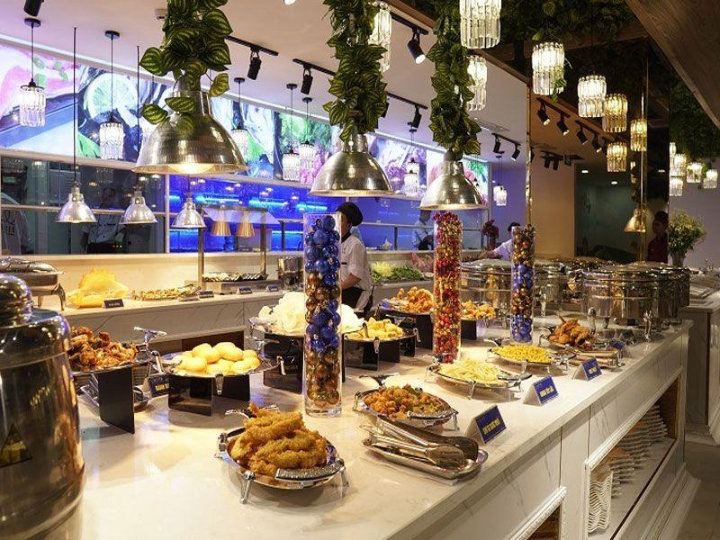 Khai trương nhà hàng buffet