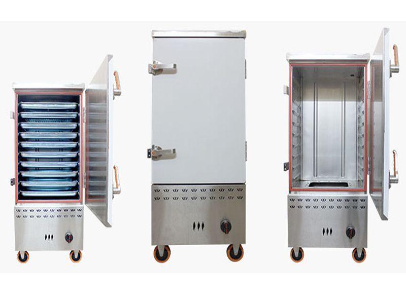 Kiểm tra đường điện, đường nước, đường gas cũng như vệ sinh sạch sẽ trước khi sử dụng tủ nấu cơm công nghiệp để đảm bảo an toàn trong quá trình nấu.