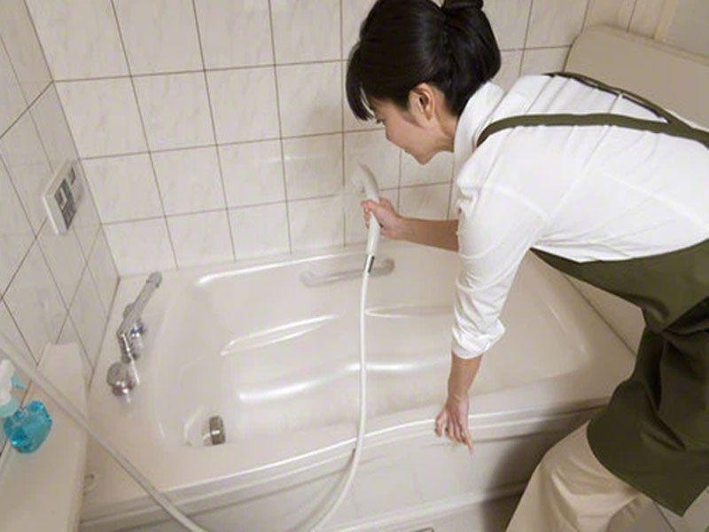 Quy trình dọn dẹp phòng tắm