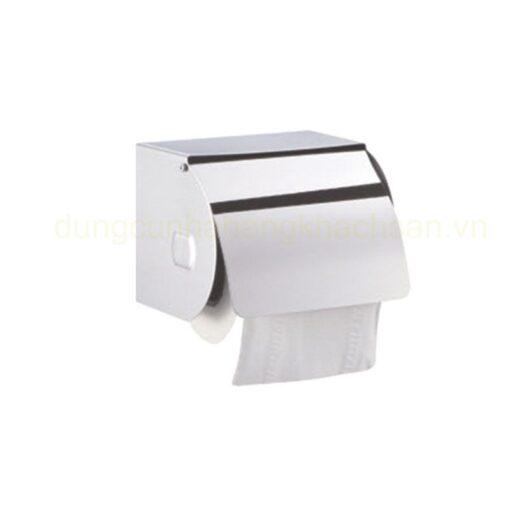 Hộp đựng khăn giấy inox 304 tròn nhỏ 121614032