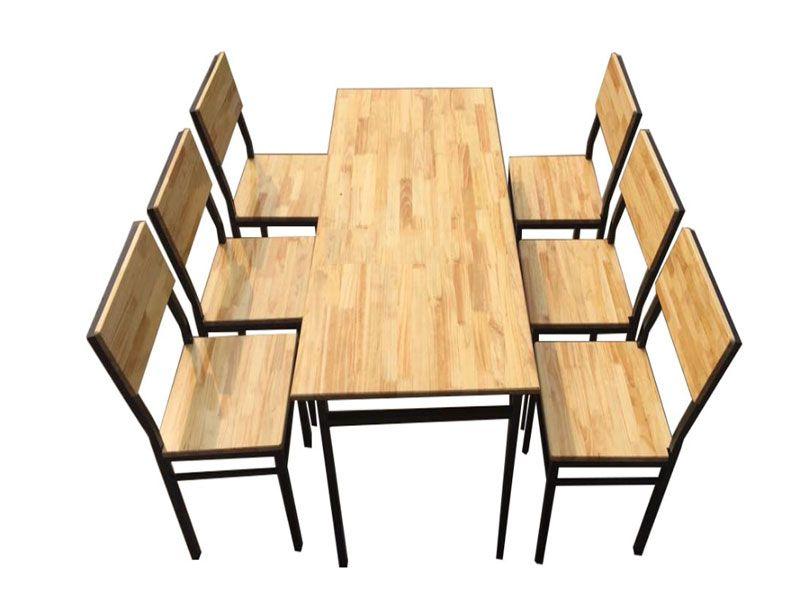 Bàn ghế nhà hàng đa dạng mẫu mã và chủng loại