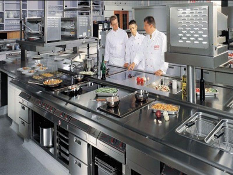 Bàn được dùng trong khu vực làm bếp