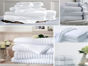 Những mẫu khăn khách sạn thường được sử dụng nhiều nhất hiện nay