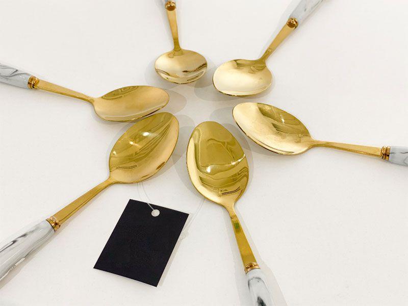 Sử dụng muỗng inox được mạ vàng là sự lựa chọn sáng suốt dành cho bạn