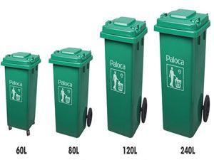 Tổng hợp những mẫu thùng rác nhựa được ưa chuộng hiện nay
