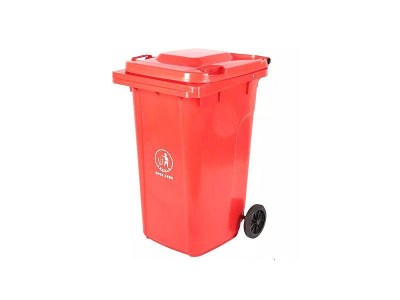 Thùng rác có thiết kế bánh xe
