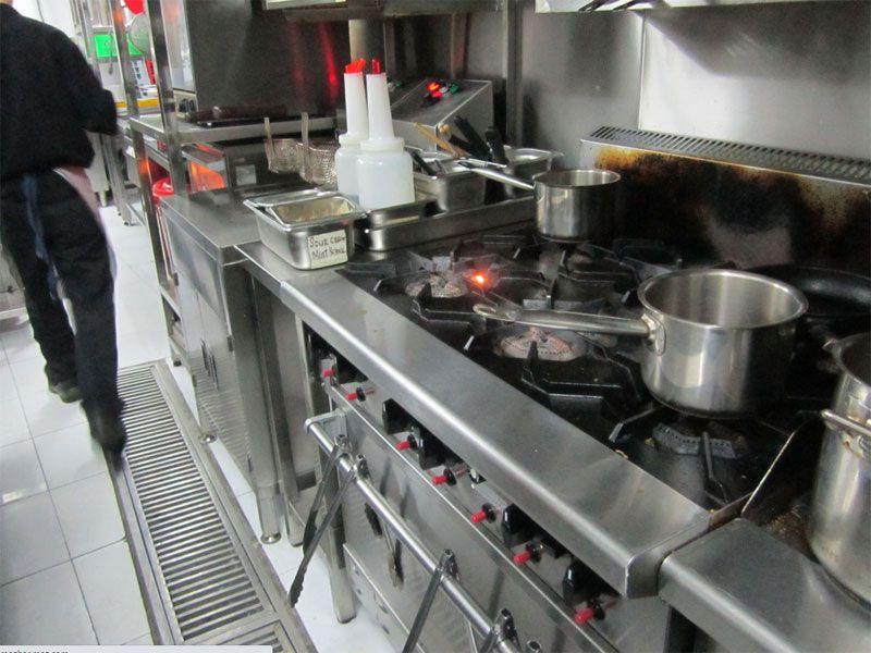 Thiết bị bếp công nghiệp không thể thiếu đối với bất kỳ nhà hàng khách sạn nào
