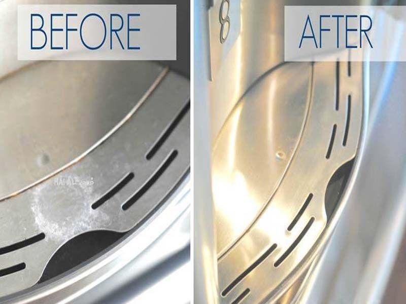 Vệ sinh bàn bếp inox luôn đơn giản và tiện lợi hơn nhiều so với các loại bàn khác
