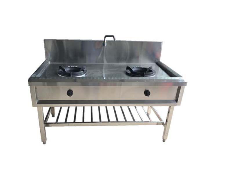Bếp Á 2 họng – Thiết bị công nghiệp hiện đại, chất lượng cao