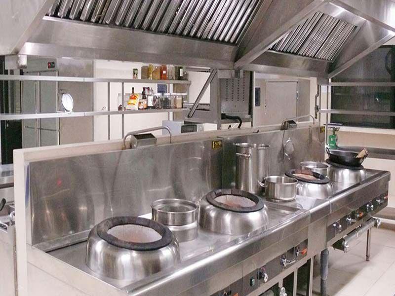 Bếp Á thường được dùng trong các nhà hàng khách sạn theo hướng phương Đông