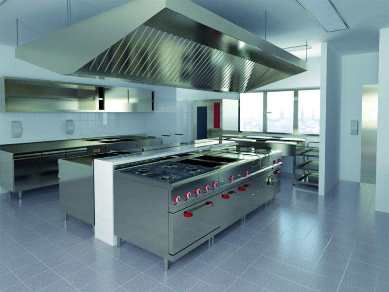 Bếp gas công nghiệp thường được sử dụng trong nhà hàng, khu bếp ăn tập thể…