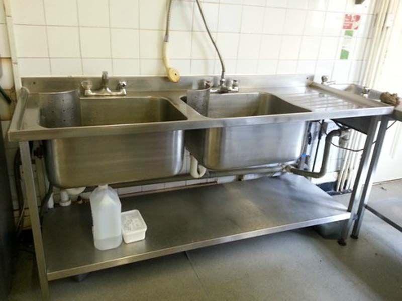 Chậu rửa inox công nghiệp giá rẻ - Thiết bị bếp công nghiệp