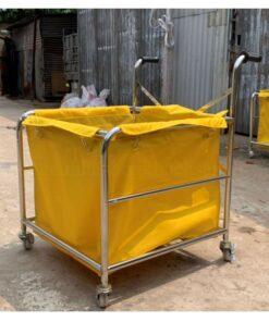 Xe chở đồ giặt có tay đẩy MCH-14