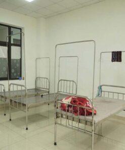 Giường y tế 9 tấc không cần quay không bánh xe TBYT-003